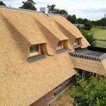 Een rieten dak